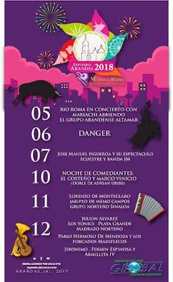 expo feria arandas 2018
