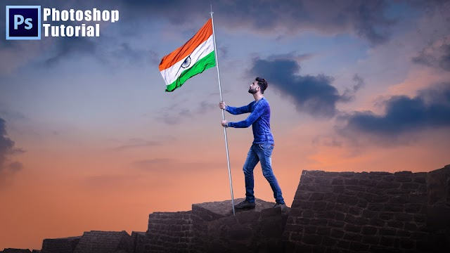 REPUBLIC DAY OF INDIAN SPECIAL PHOTOSHOP MANIPULATION TUTORIAL