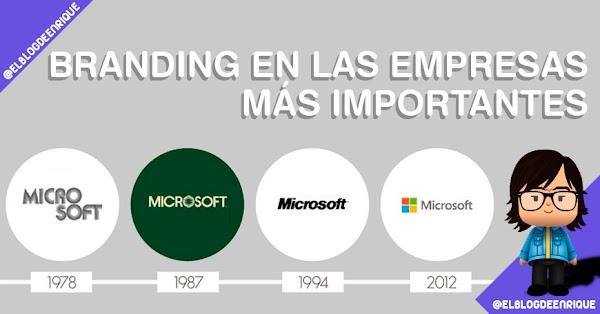 La evolución de logotipos de las empresas más famosas del mundo