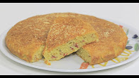 طريقة عمل كيكة حادقة بالجبنة الرومي والبسطرمة مع نجلاء الشرشابي في علي قد الأيد