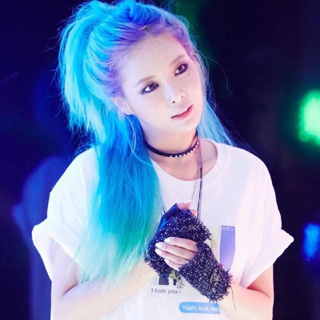 Blue HyunA