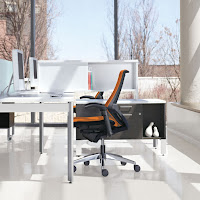 Global Spree Chair at Desk