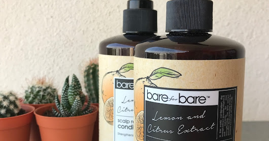 Bare for Bare Natural Shampoo for Natural Shiny Hair
