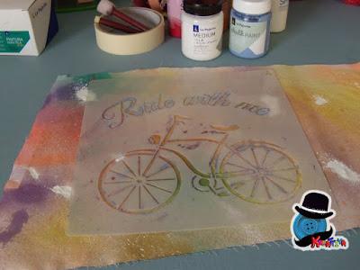stencil per disegnare su stoffa