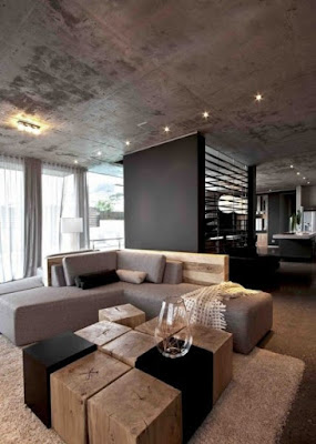 Earthy Colors In The Living Room