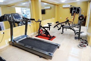 We've got the best equipment for a nice workout
