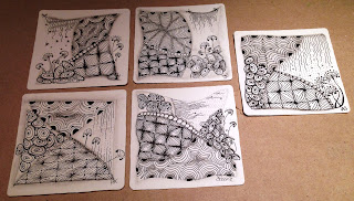 Zentangle Kurs Hamburg Beate Winkler CZT