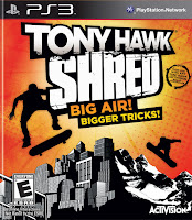 Cheat Game Tony Hawk: Shred PS3