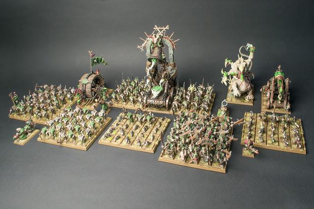 Guía para pintar ejércitos (no miniaturas) Publicat per Rogers  Skaven_armyshot