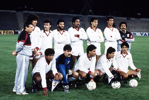 Formación de Venezuela ante Chile, Copa América 1987, 30 de junio