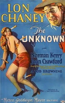 silent movie w/ Lon Chaney