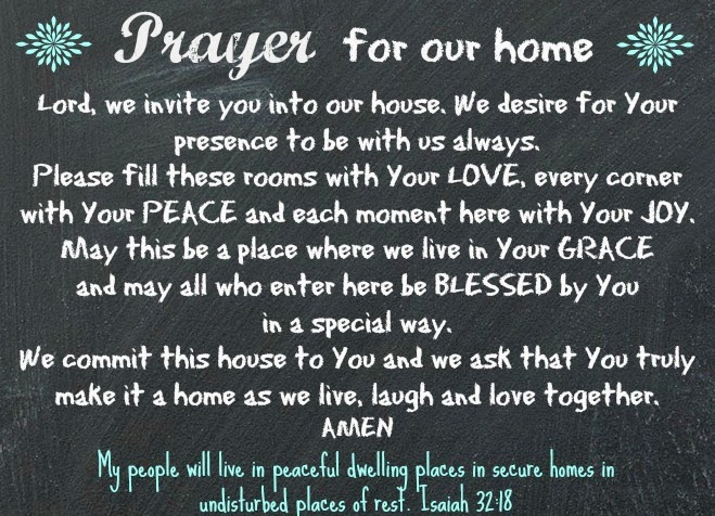 Bible Quotes For New Home
