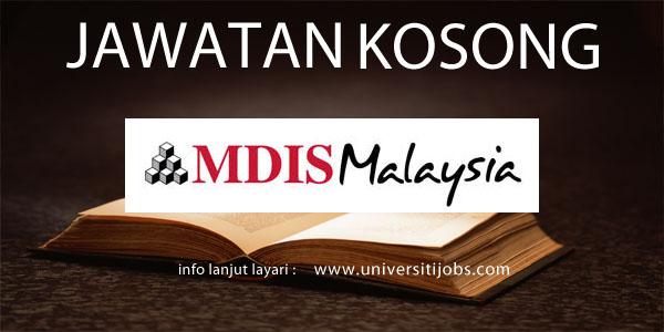 Jawatan Kosong MDIS Unicampus Malaysia 2016