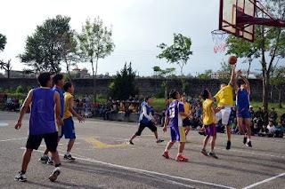 TCV Chauntra Inter House Basketball Tournament 2017
