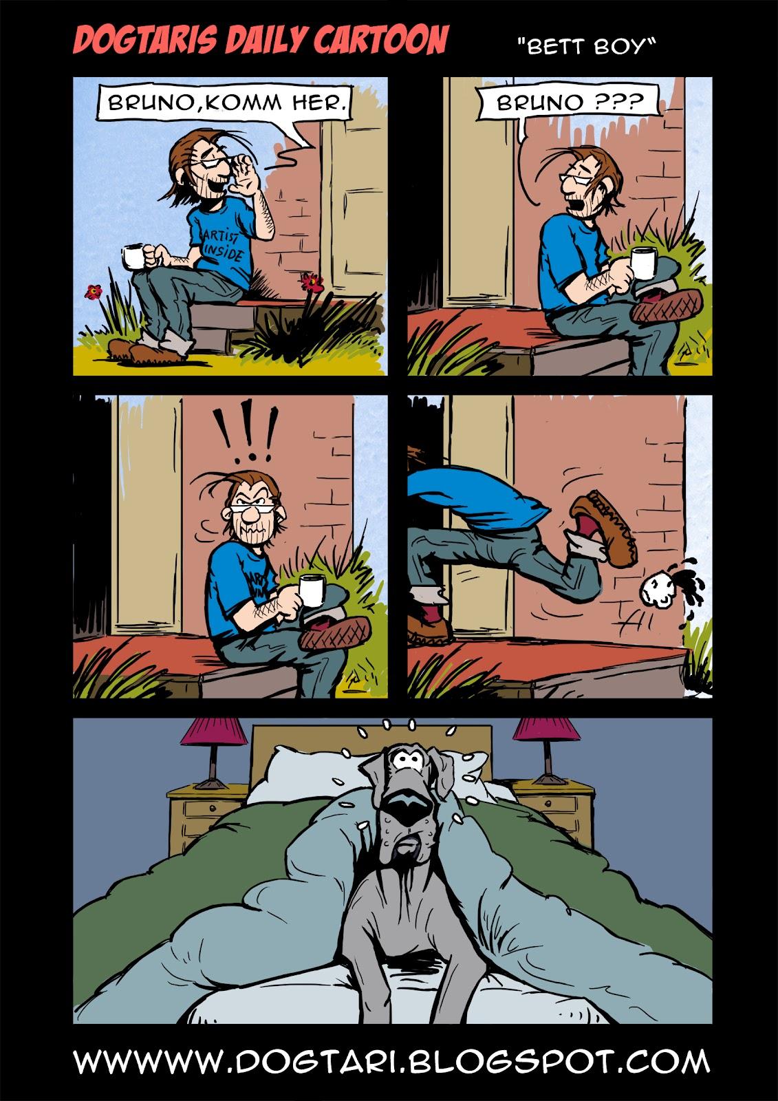 Dogtaris Cartoons Bett Boy