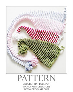 crochet patterns, how to crochet, baby hats, pixie, elf, santa, long tail, newborn,