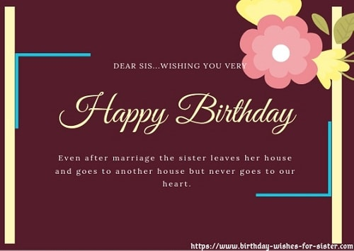 I Love My Sister Quotes | Happy Birthday Wishes For Sister Looking For Birthday Wishes