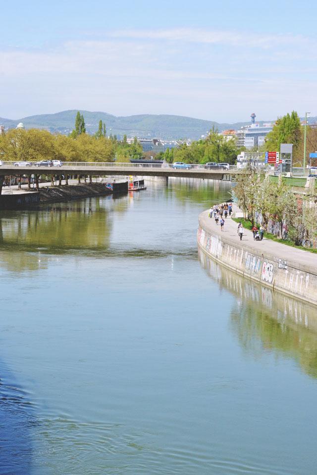 Danube canal Vienna