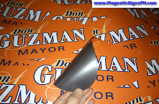 Vehicle Magnetic Stickers - Oval