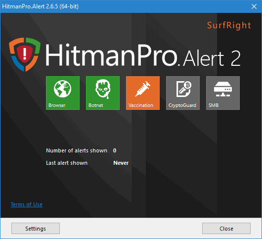 HitmanPro.Alert 2.6 per Windows