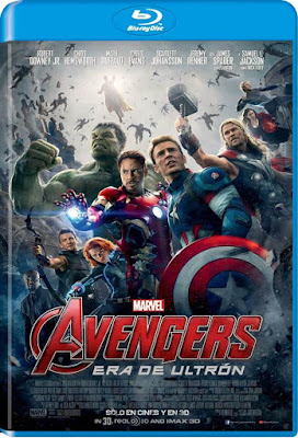 Avengers Age Of Ultron 2015 BD25 Latino