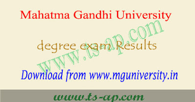 MGU degree results 2018, manabadi ug result