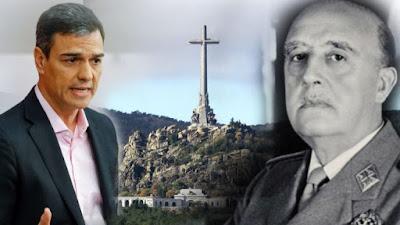 PSOE, franco, pedro sánchez, presupuesto, valle de los caídos