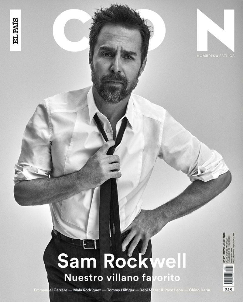 Sam Rockwell para ICON El País Magazine por Michael Schwartz