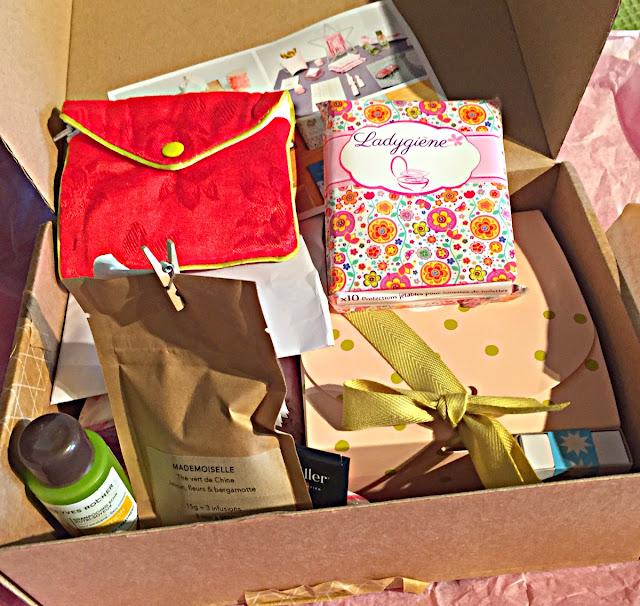 Avis box serviettes hygiénique femme maman
