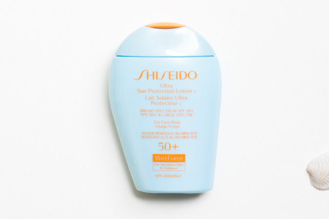 shiseido ultra sun protection lotion s sensitive skin sunscreen review
