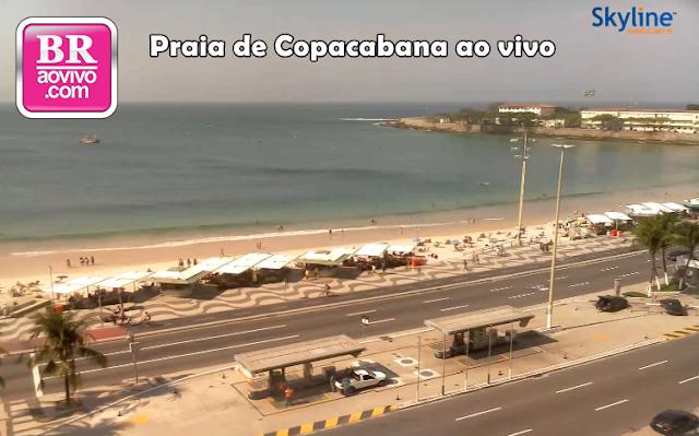 Câmeras ao vivo de Copacabana