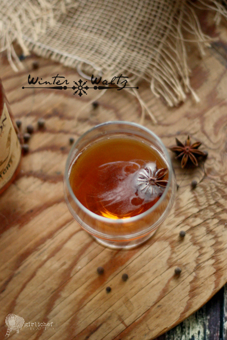 Winter Waltz cocktail + The North American Whiskey Guide