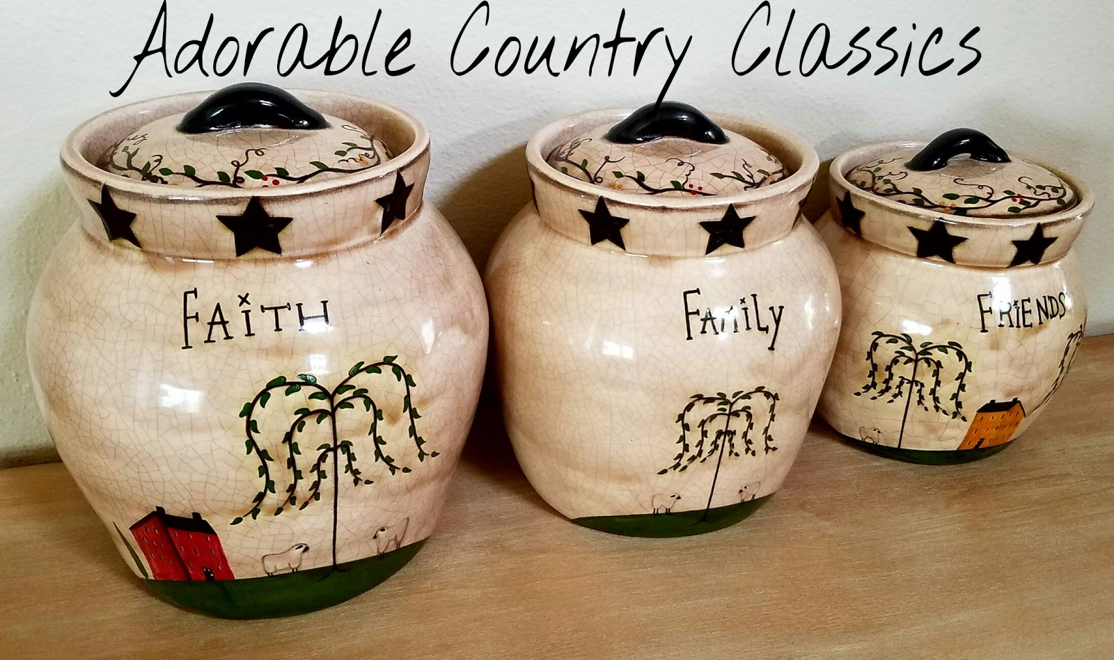 Adorable Country Classics Home Decor & Gifts: Primitive ...
