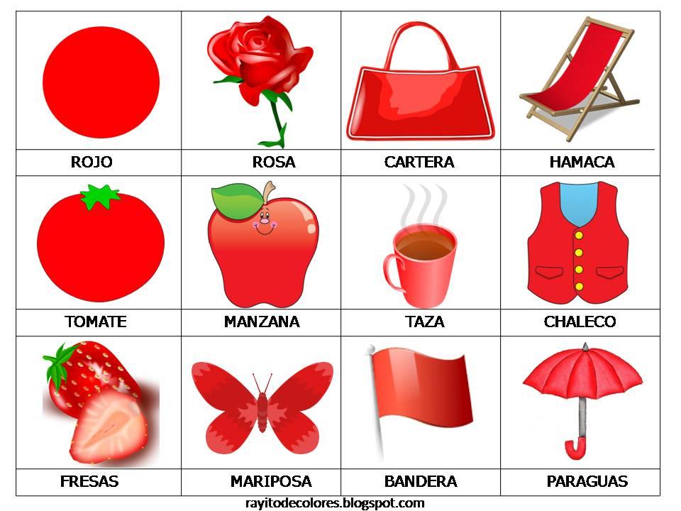 Rayito De Colores: Colores En Dibujos