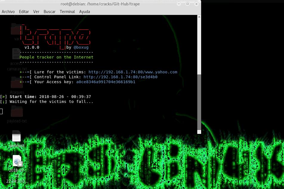 rastrear celular kali linux