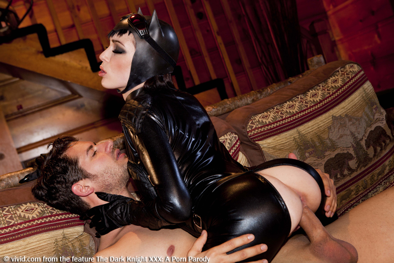 Catwoman cosplay porn