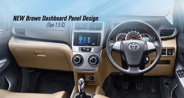 New Brown Dashboard Panel Design