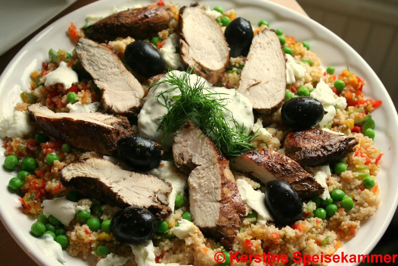 Kerstins Speisekammer Jamies 15 Minutes Meals Hähnchenbrust Mit