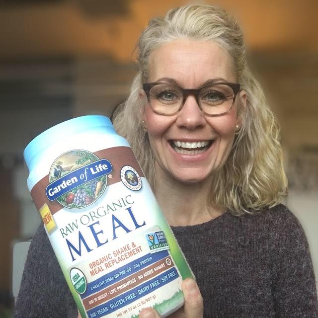 Raw Organic Meal - måltidsersättning med suveränt näringsinnehåll!