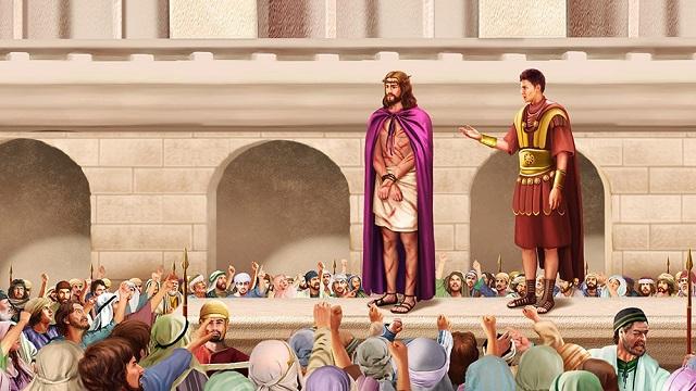 東方閃電-全能神教會-彼拉多定罪主耶穌圖片