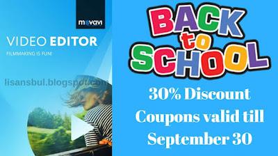 Movavi video editor discount code, coupons code, rabatt 2018