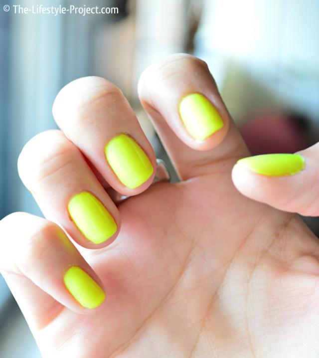 Manicure-neon