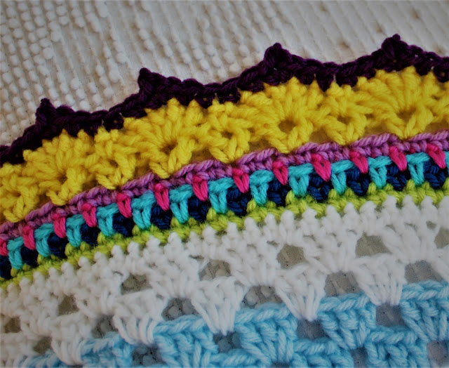Crochet Afghan Border Free Pattern