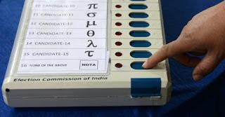 evm+india+vote