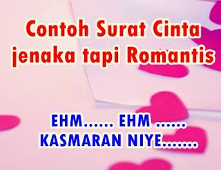 contoh surat cinta unik jenaka tapi romantis
