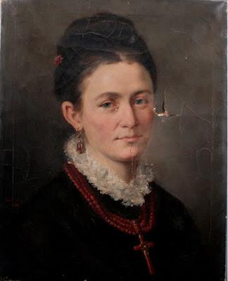 Portrait de Dame, Antonie Boubong