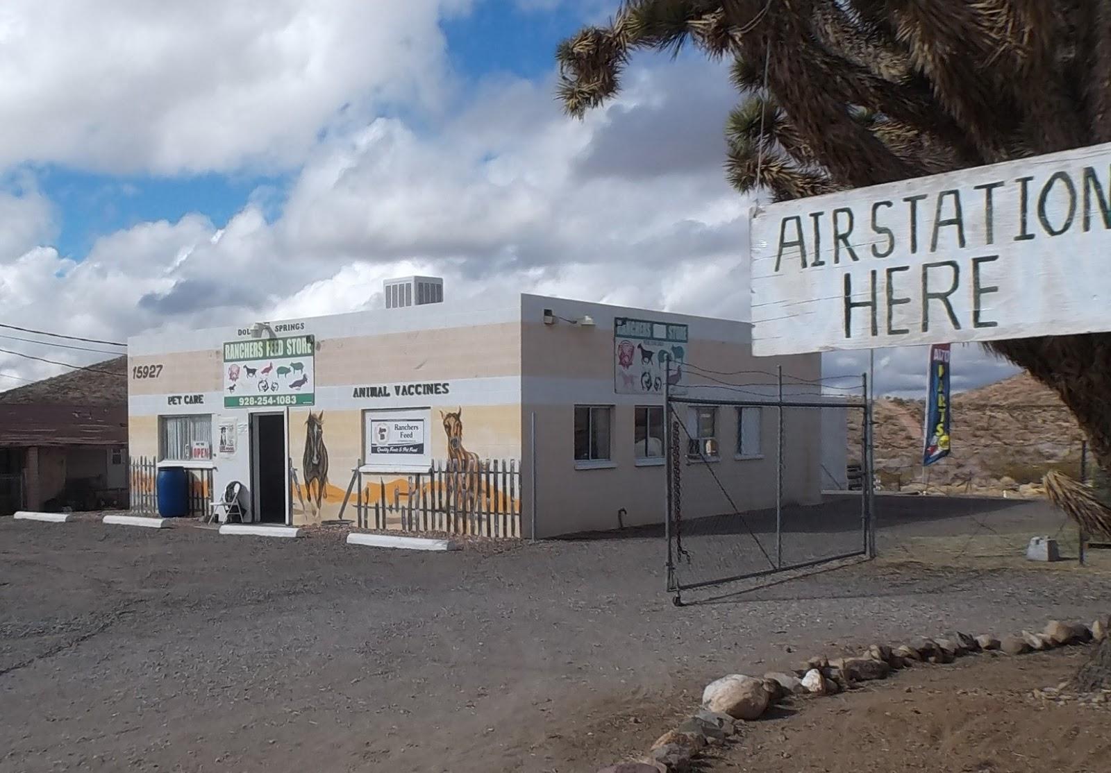 Dolan Springs Arizona Ranchers Feed Store Start N Go Automotive