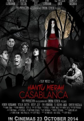 Poster Film Hantu Merah Casablanca