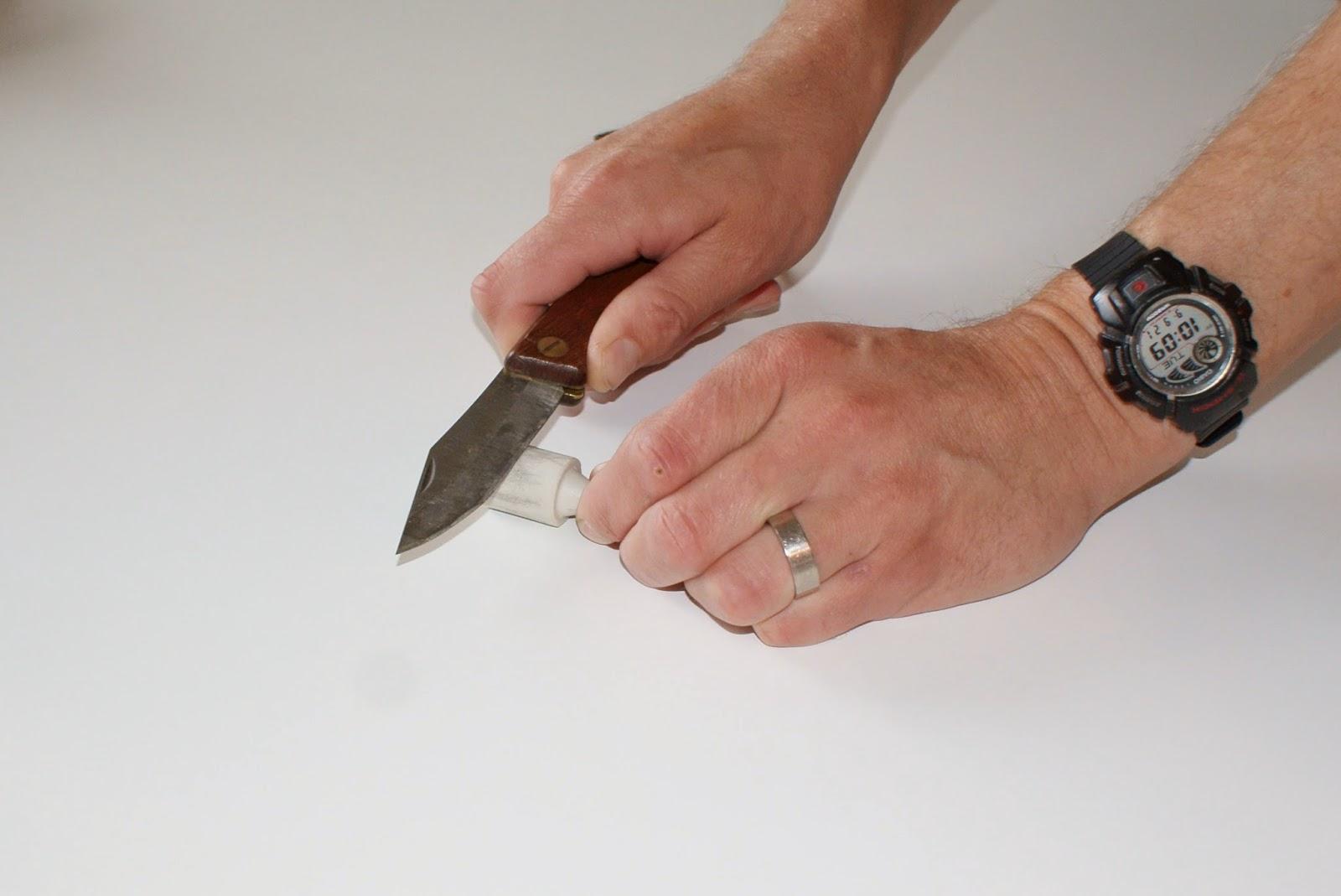 Slipa kniven