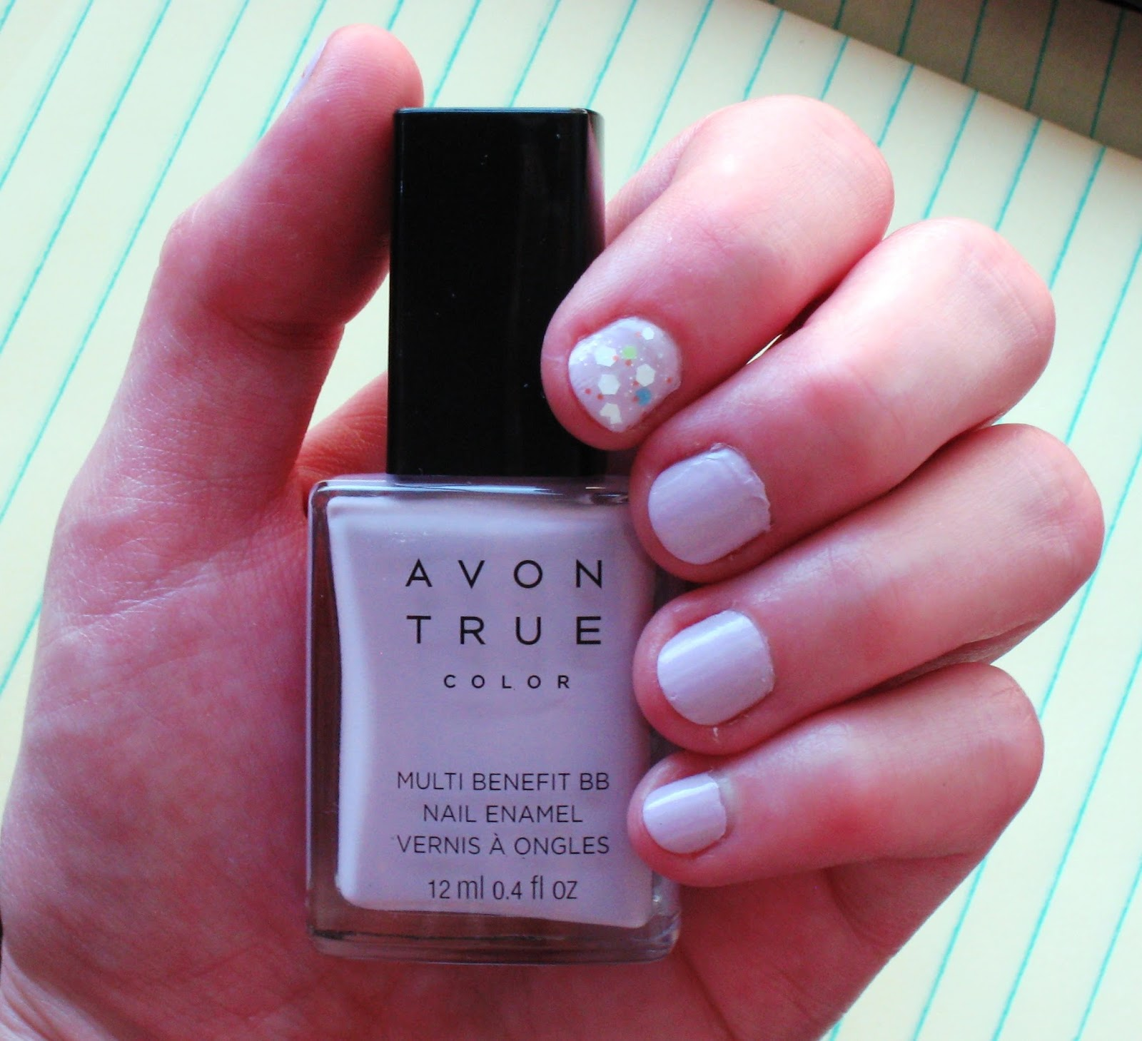 Avon Pink Nail Polish: Erica's Fashion & Beauty: Avon True Color Multi-Benefit BB